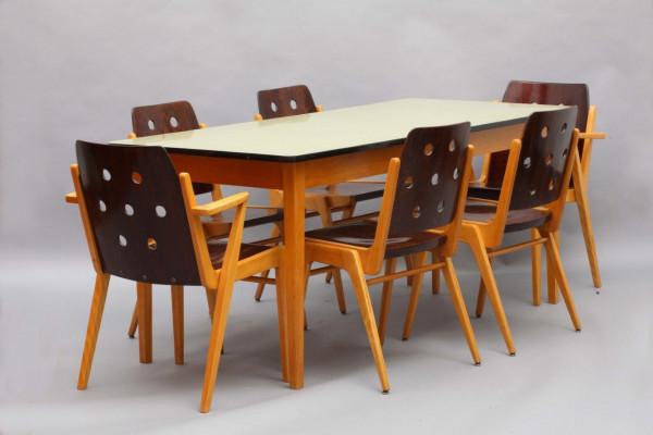 Esstisch mit Stühlen - Franz Schuster
